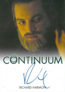 2014 Rittenhouse Continuum Seasons 1 and 2 Autographs Richard Harmon
