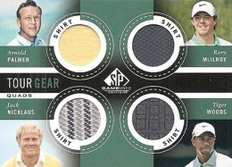 2014 SP Game Used Golf Short Prints 5