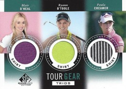 2014 SP Game Used Golf Short Prints 4