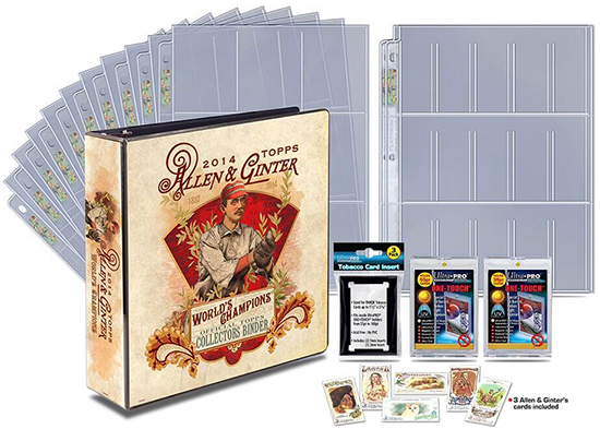2014 Topps Allen and Ginter Baseball Binder Package
