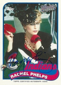 2014 Topps Archives Major League Autographs Rachel Phelps