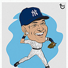 2014 Topps Illustrations Baseball Wall Art