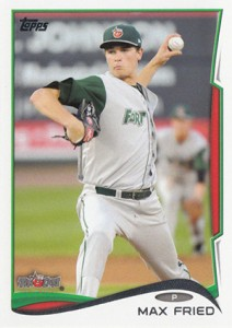 2014 Topps Pro Debut Max Fried