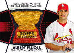 2014 Topps Series 2 Baseball All-Rookie Cup Patch Albert Pujols
