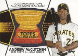 2014 Topps Series 2 Baseball All-Rookie Cup Patch Andrew McCutchen