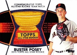 2014 Topps Series 2 Baseball All-Rookie Cup Patch Buster Posey