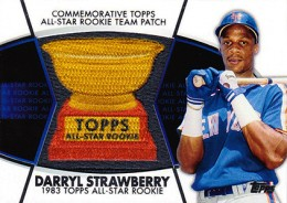 2014 Topps Series 2 Baseball All-Rookie Cup Patch Darryl Strawberry