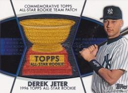 2014 Topps Series 2 Baseball All-Rookie Cup Patch Derek Jeter