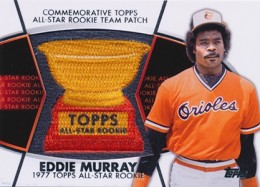 2014 Topps Series 2 Baseball All-Rookie Cup Patch Eddie Murray