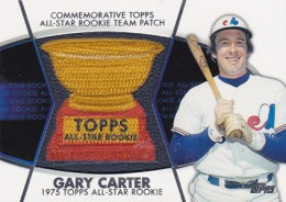 2014 Topps Series 2 Baseball All-Rookie Cup Patch Gary Carter