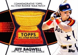 2014 Topps Series 2 Baseball All-Rookie Cup Patch Jeff Bagwell