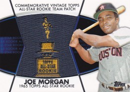 2014 Topps Series 2 Baseball All-Rookie Cup Patch Joe Morgan