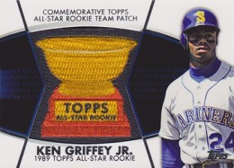 2014 Topps Series 2 Baseball All-Rookie Cup Patch Ken Griffey Jr