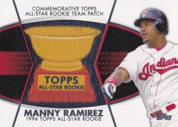 2014 Topps Series 2 Baseball All-Rookie Cup Patch Manny Ramirez