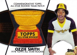 2014 Topps Series 2 Baseball All-Rookie Cup Patch Ozzie Smith