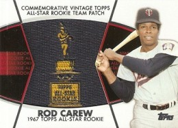 2014 Topps Series 2 Baseball All-Rookie Cup Patch Rod Carew