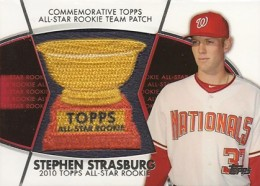 2014 Topps Series 2 Baseball All-Rookie Cup Patch Stephen Strasburg