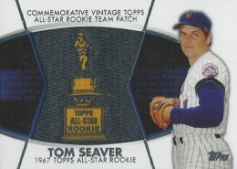 2014 Topps Series 2 Baseball All-Rookie Cup Patch Tom Seaver