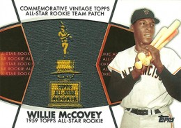 2014 Topps Series 2 Baseball All-Rookie Cup Patch Willie McCovey