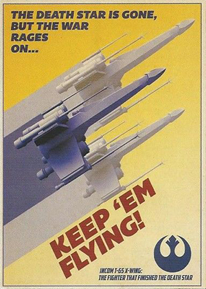 2014 Topps Star Wars Perspectives UK Rebel Propoganda