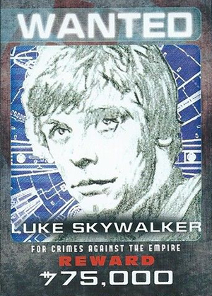 2014 Topps Star Wars Perspectives UK Wanted Posters