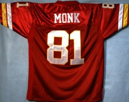 Art Monk Signed Jersey