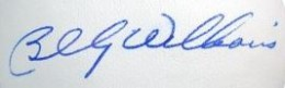 Billy Williams Signature Example