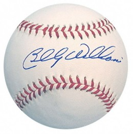 Billy Williams Signed Baseball