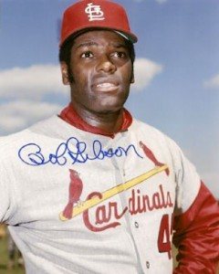 Bob Gibson Cards, Rookie Card and Autographed Memorabilia Guide 23