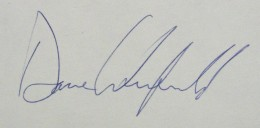 Dave Winfield Signature Example