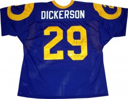 Eric Dickerson Cards, Rookie Card and Autographed Memorabilia Guide 25