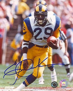 Eric Dickerson Signed Photo