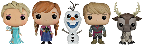 2014 Funko Pop Disney Frozen Vinyl Figures 1