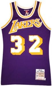 Hardwood Classics Vintage Jerseys Lakers Magic Johnson