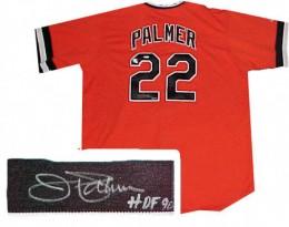 Jim Palmer Signed Jersey