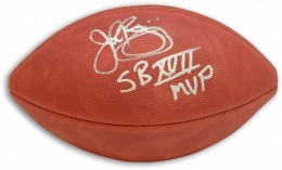 John Riggins Signed Football