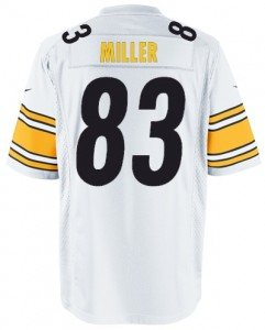 d12bb8b38 nike pittsburgh steelers 83 heath miller 1933 yellow throwback jersey