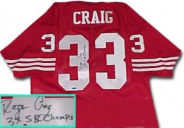 Roger Craig Cards, Rookie Card and Autographed Memorabilia Guide 25