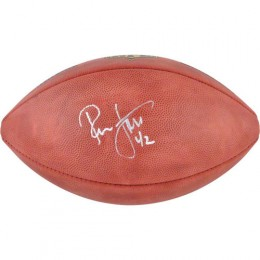Ronnie Lott Signed Football