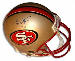 Ronnie Lott Signed Helmet