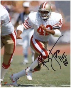 Ronnie Lott Signed Photo