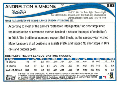 2014 Topps Series 2 Baseball Variation Short Prints Guide 81