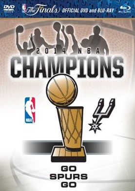 San Antonio Spurs Champions DVD Blue-ray