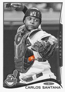 2014 Topps Baseball Sparkle Variation Spotter 73