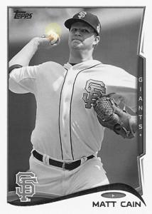 2014 Topps Baseball Sparkle Variation Spotter 74