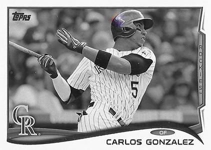 2014 Topps Baseball Sparkle Variation Spotter 75