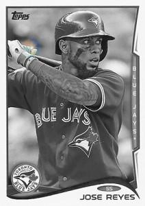 2014 Topps Baseball Sparkle Variation Spotter 76