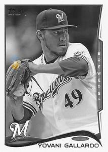 2014 Topps Baseball Sparkle Variation Spotter 81