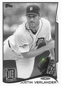 2014 Topps Baseball Sparkle Variation Spotter 91