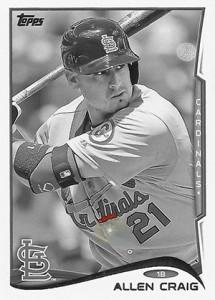 2014 Topps Baseball Sparkle Variation Spotter 97
